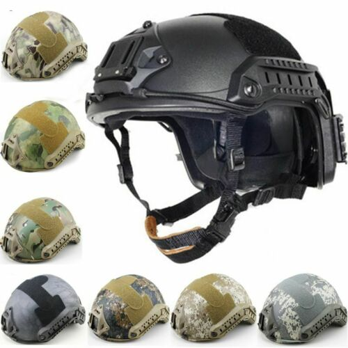 Half-covered Fast Helmet Air Soft CS Camouflage Tactical Helmets Sport Military