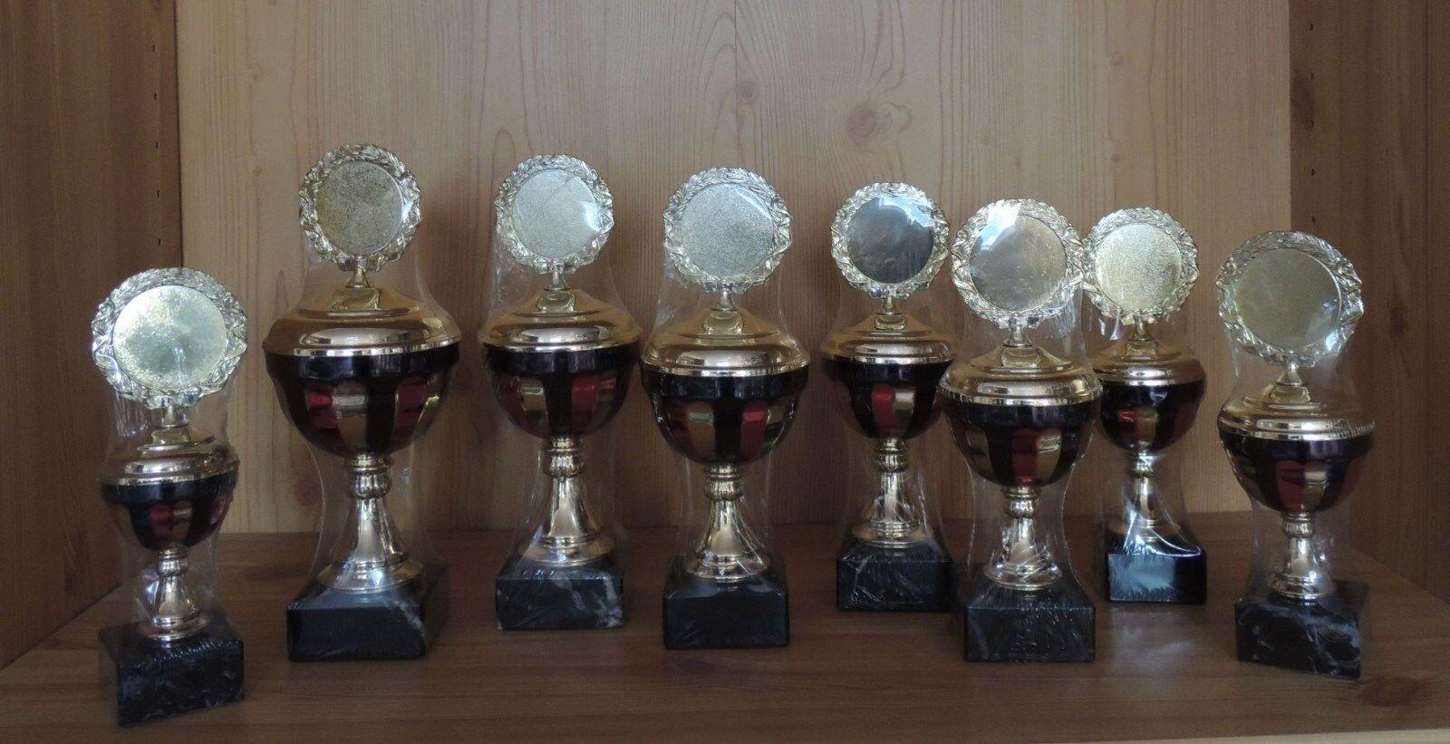 8er Serie Deutschland Pokale 27 bis bis bis 20 cm mit Emblem  BRD1 (Pokal Sieger ) b94cea