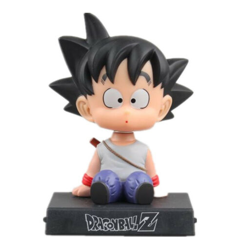 Dragon Ball Z Goku Car Decoration Shaking Bobble Head Doll Phone Holder---Gift