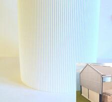 1:32 SCALE FARM DIORAMA BUILDING CORRUGATED CARD SHEET WHITE SUIT BRITAINS