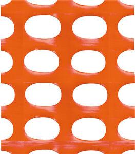 Rete In Plastica Per Cantiere.Rete Per Cantiere Arancio H 120 X 50 Mt Tenax Recinzione Cantiere