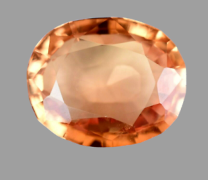 AAA+ Ceylon 12.55 Ct Natural Padparadscha Sapphire Oval Cut Gemstone -CERTIFIED