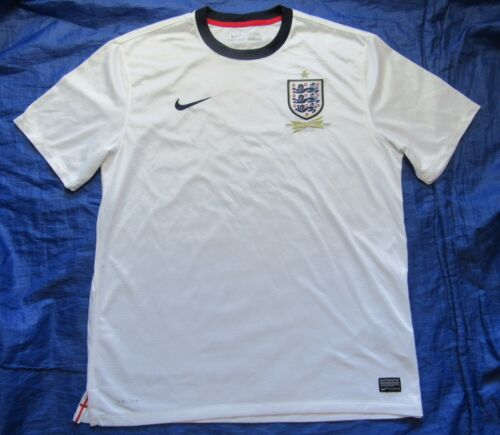 ENGLAND 18632013 150 Years home shirt Jersey NIKE white men adult SIZE XL