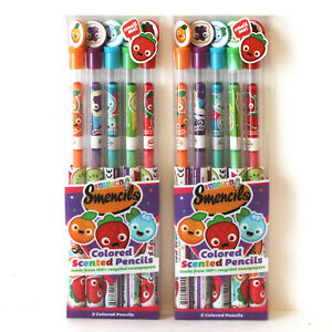 School & Educational Supplies Colouring Pens & Markers Scentco Spring Smencils of HB n.2 Scented Pencils 5-Pack