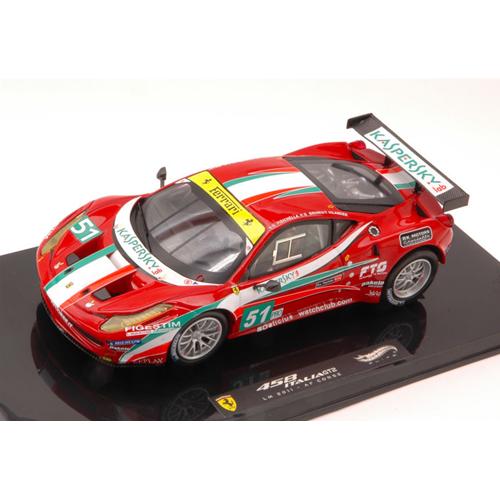 FERRARI 458 ITALIA GT2 N.51 13th Le Mans 2011 FISICHELLA-BRUNI-VILANDER 1:43