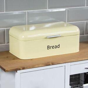 Pain-Courbe-Creme-bin-cuisine-en-acier-top-Pain-de-stockage-boite-nouvelle-maison-par-reduction