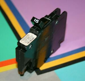 FEDERAL PACIFIC 15 AMP BREAKER THIN 1-POLE TYPE NC
