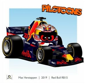 Coffee-Mug-Red-Bull-RB15-2019-33-Max-Verstappen-NED-by-BM