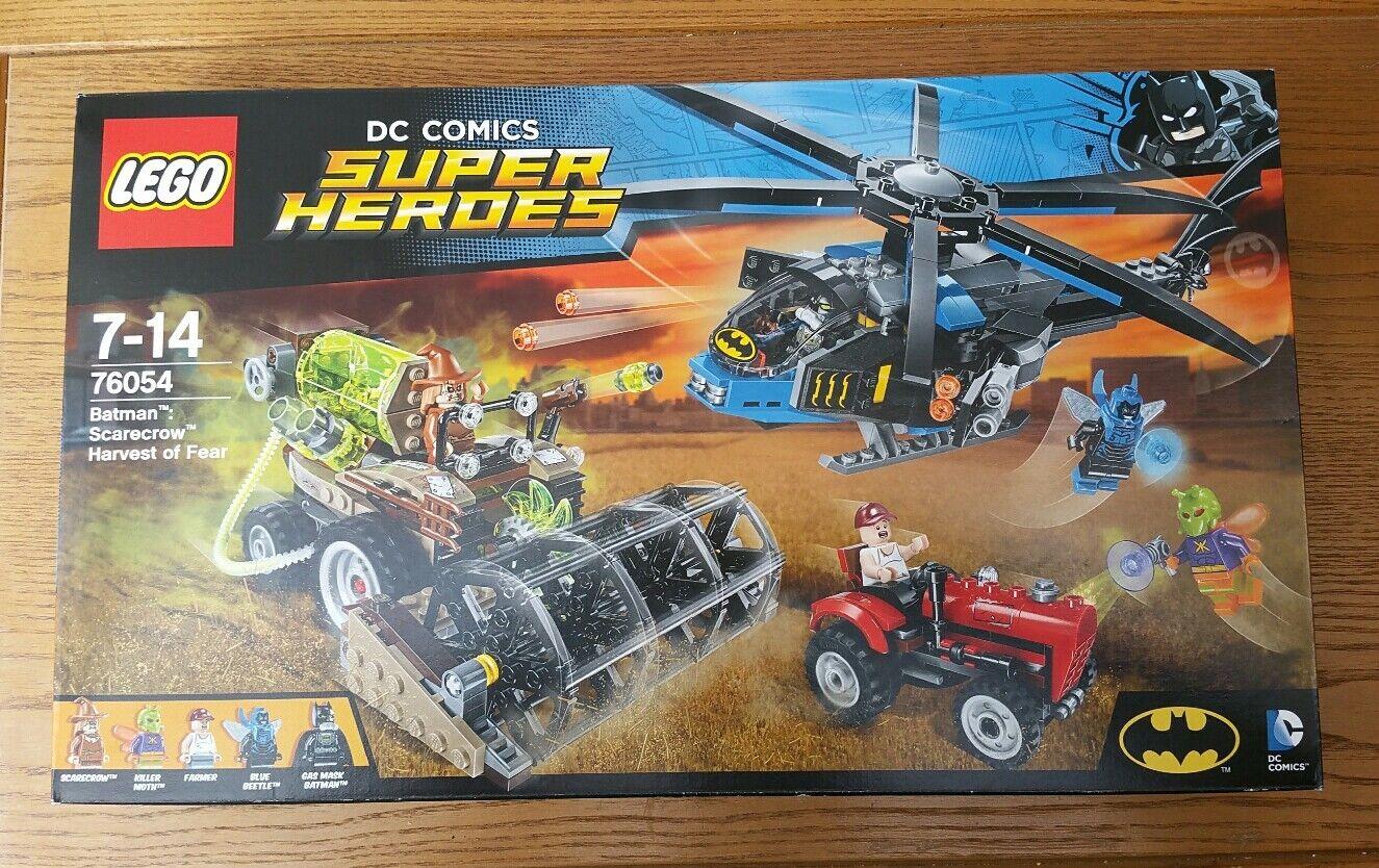 New lego 76054 dc comics super heroes heroes heroes batman  scarecrow harvest of fear misb 35bd9c