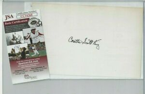 Coretta-Scott-King-Autographed-Card-Civil-Right-Leader-amp-Activist-JSA-COA