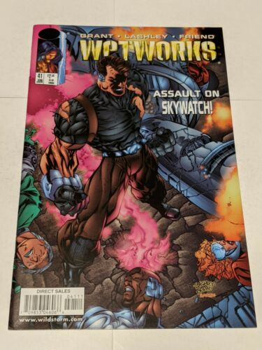 Wetworks #35 November 1997 Image Comics Grant Ryan Friend