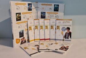 9 x 10 Euros Argent Monnaie de Paris Harry Potter 2021 Avec Album !
