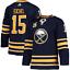 NHL-JACK-EICHEL-15-Buffalo-Sabres-On-Ice-AUTHENTIC-ADIDAS-Climalite-Jersey-NTW thumbnail 1