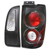 Lincon Navigator 98 99 00 01 02 Black Tail Stop Altezza Euro Rear Stop Lamps