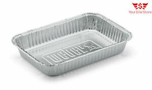 Bbq Aluminum Foil Grease Drip Pans Recyclable Grill Catch