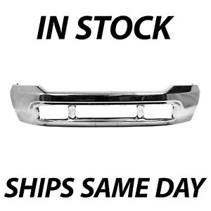 NEW Chrome Steel Front Bumper Face Bar Replacement for 2000-2004 Ford Excursion