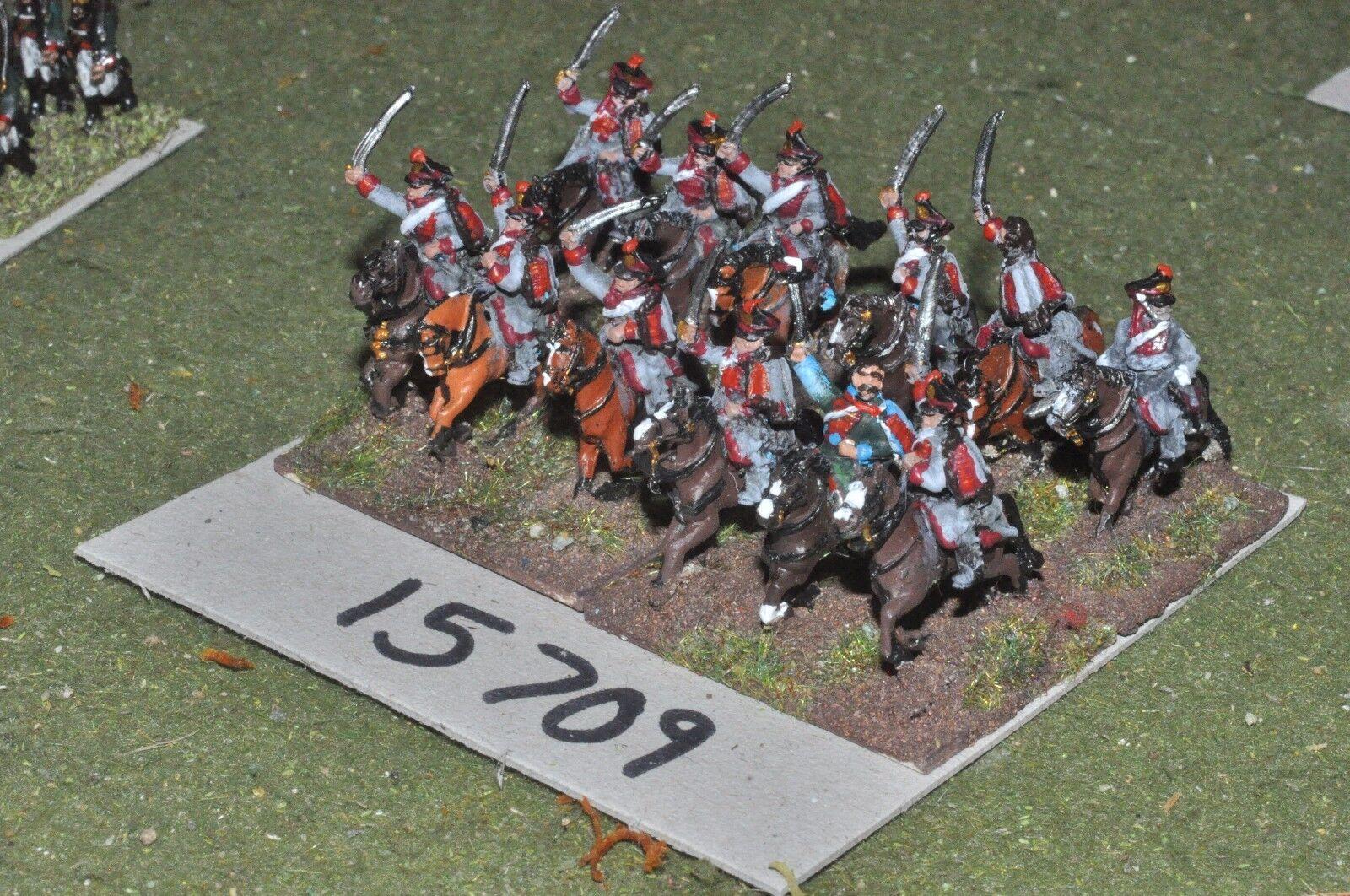 15mm napoleonic     russian - hussars 12 cavalry - cav (15709) 693d8b
