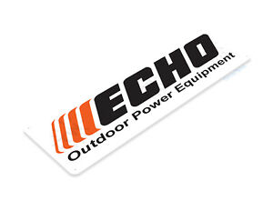 "TIN SIGN ""Echo"" Mechanic Gas Oil Auto Power Tools Toolbox Garage Shop B075 #"