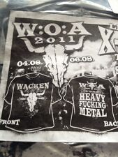 W:O:A | Wacken Open Air 2011 T-Shirt, Size: L, Poster & CD (Ticket,Karte,Xmas)
