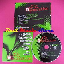 CD PUNK GENERATION SIGILLATO TUTTO SEX PISTOLS X STRANGLERS DEVO NO lp (C7)