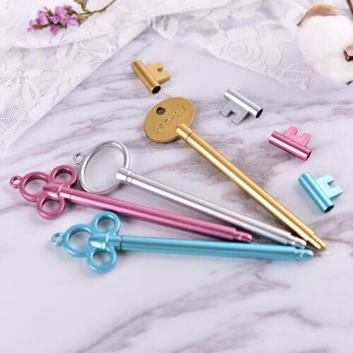 2X Kreative Niedlichen Schlüssel Stift Gelschreiber Schulbedarf Büromaterial XJ