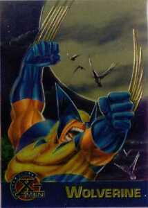 New X Men All Chromium Fleer Ultra Promo Trading Card Wolverine