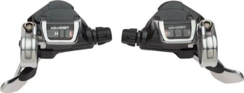 NEW Microshift Thumb Tap Flat Bar Road 2x10 Trigger Shifters