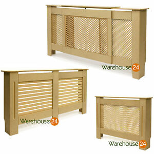 SALE-Modern-Unpainted-Natural-Wood-MDF-Radiator-Cover-Shelf
