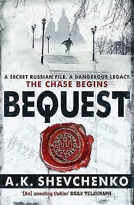 1 of 1 - Bequest by A. K. Shevchenko - Medium Paperback - 20% Bulk Book Discount