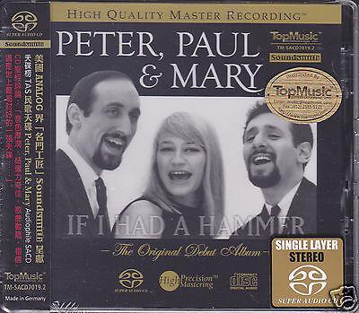Peter Paul & Mary The Original Debut Album Self-titled Audiophile SACD CD Sealed