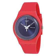 Swatch Berry Rail Black Dial Unisex Watch SUOP702