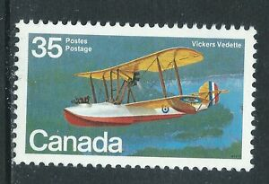 Canada-845-1-1979-35-cent-AIRCRAFT-FLYING-BOATS-VICKERS-VEDETTE-MNH