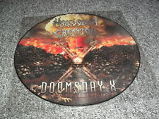 MALEVOLENT CREATION -DOOMSDAY X- RARE PICTURE LP OF BRUTAL DEATH METAL OBITUARY