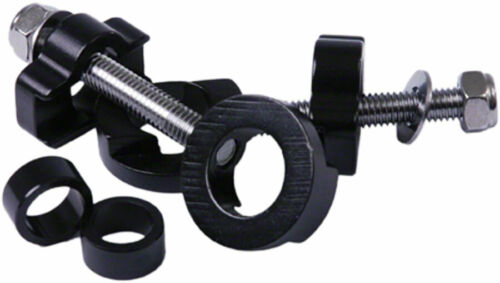 DMR Chain Tugs Chain Tensioner 14mm with 10mm Adaptor Black Sold as a Pair