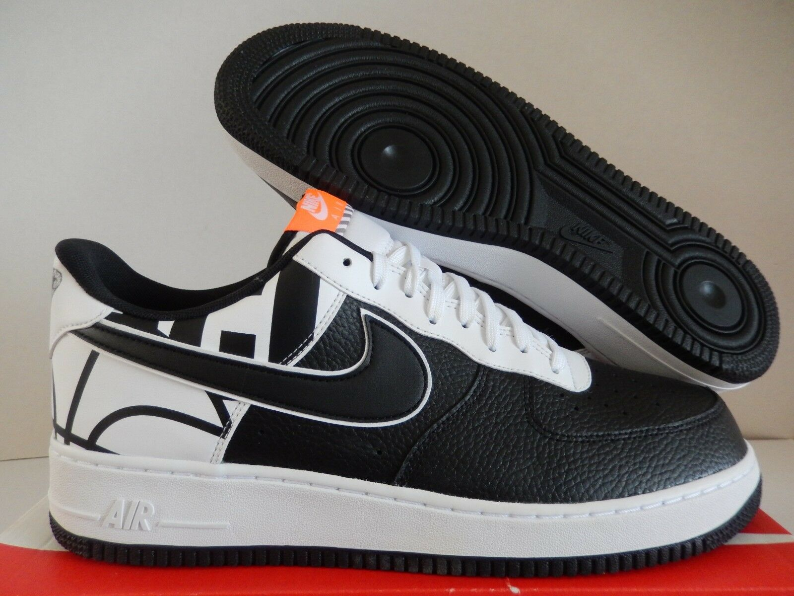 NIKE FORCE 1 07 Negroblanco LV8 AIR NBA LOGO Pack Negroblanco 07 [8235201811] 7a03a6
