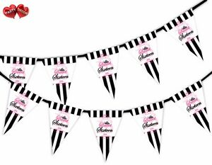 Sweet-16-Stripes-Pattern-Bunting-Banner-15-flags-by-Party-Decor