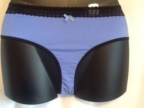 Paramour Cotton Blend Hipster Plus Panties 1X 3X 5X 6X TEAL PURPLE BLUE NEW  NWT