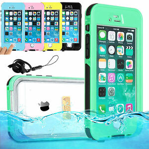 new style ced6d 37d9f Details about WATERPROOF SHOCKPROOF DIRT PROOF CASE COVER FOR APPLE IPHONE  6,7 & PLUS
