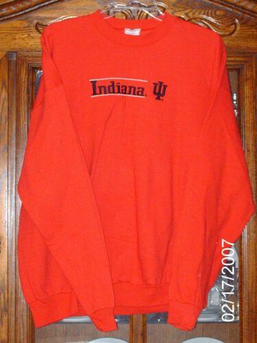 2X Indiana University Sweatshirt 2XL IU Sweatshirt