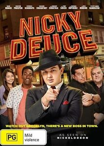 NICKY-DEUCE-DVD-Nickelodeon-COMEDY-Sealed-R4
