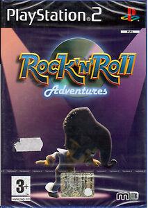 Rock-n-Roll-Adventures-PS2-PLAYSTATION-2-Neu-und-Versiegelt-Italienisch