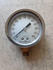 Ashcroft Pressure Gauge 0 60 Psig Steampunk