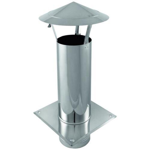 WDA 200 mm Schornsteinverlängerung Regenhaube Kaminhaube Schornsteinaufsatz