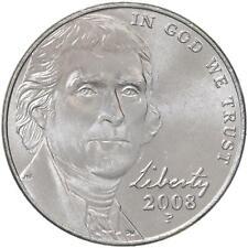 2008 P Jefferson Nickel BU Roll 40 US Coin Lot