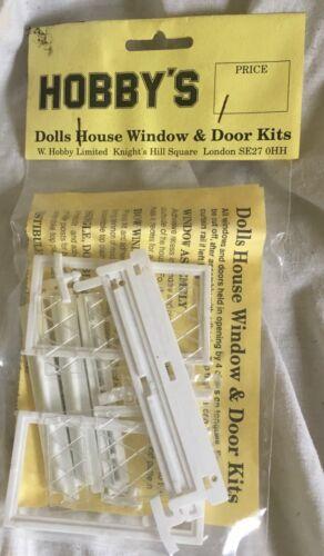 Vintage hobbys Dolls House Fenêtre /& Porte Kit Vestibule Porte non ouvert