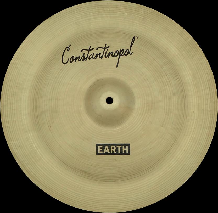 Constantinopol EARTH  NA 16  - B20 Bronze - Handmade Turkish Cymbals