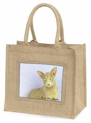 orientalische Katze' Liebe, die sie Mama 'Große natürliche jute-einkaufstasche
