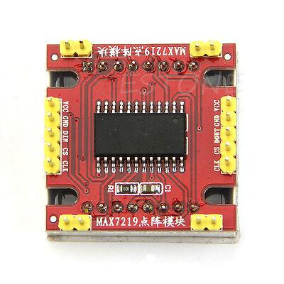 MAX7219 Dot Led Matrix MCU LED Control Module for Singlechips / Arduino DIY