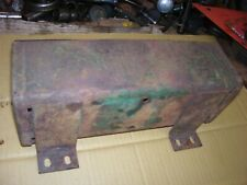 Vintage Oliver 77 Diesel Row Crop Tractor Tool Box Amp Cover As Is
