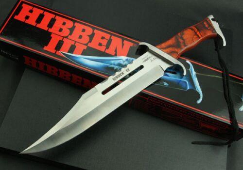 "First Blood Part III Messer Rambo 3 Limitierte Signatur Edition /""Gil-Hibben/"""